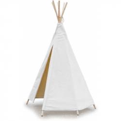 Vilac Detské indiánske teepee biele - típí