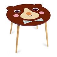 Vilac - Drevený stolček medvedík