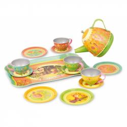 VILAC Metalowe muzyczne naczynia do herbatki