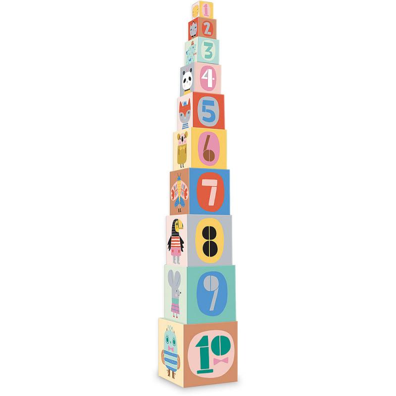 Vilac Piramida wieża 10 kostek S. Ultman