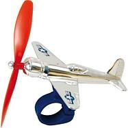 Hračky Vilac - Letadlo s vrtulkou na řídítka kola
