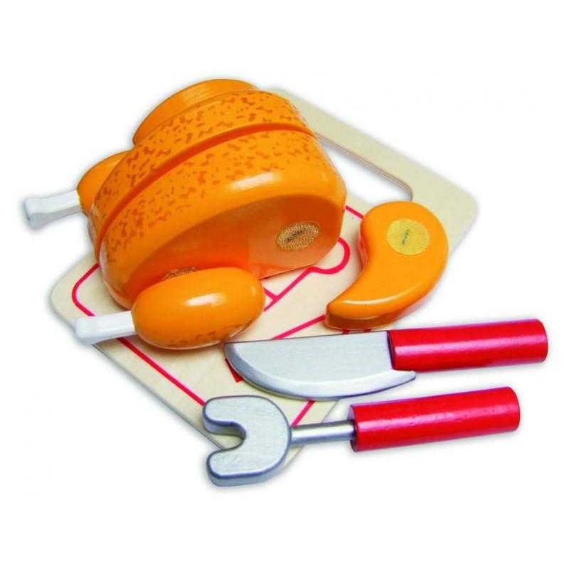 Dřevěné hračky Vilac - Krájecí kuře