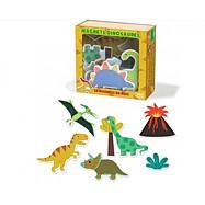 Hračky Vilac - Dřevěné magnetky dinosauři - 20ks