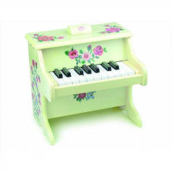 Detské hudobné nástroje Vilac - Klavír s kvetmi