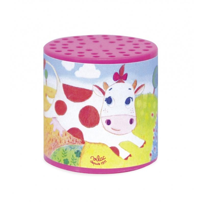 Vilac plechovky se zvukem kravičky