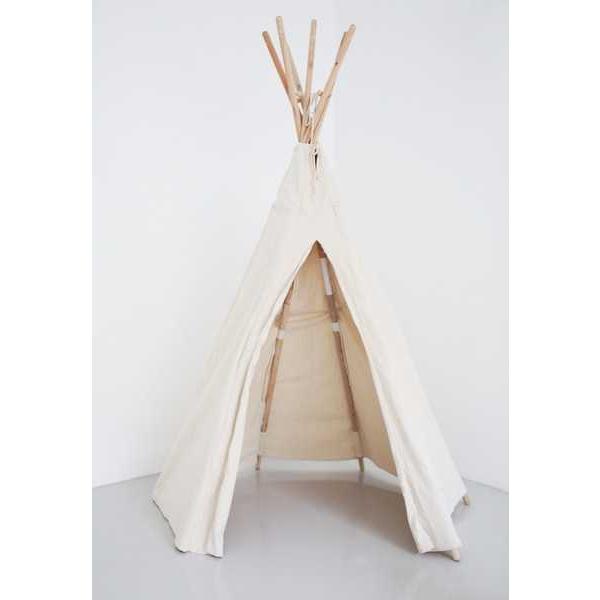 Vilac Dětské indiánské Teepee bílé - Týpí