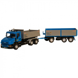 Ciężarówka 65 scania tarmac 1:48 marki Monti systém