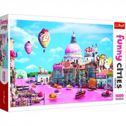 Puzzle Crazy City Benátky 1000 dílků