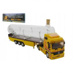 Stavebnica Monti 55/1 Souvenir Truck 32cm zberateľský model + sklenená fľaša v krabičke