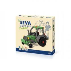 Zestaw Seva Transport Tractor plastikowy 384 sztuk