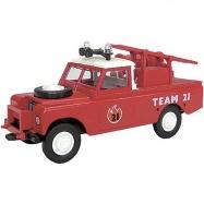 Monti System - Land Rover, wóz strażacki