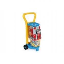 Vozík s náradím plast 60x25x20cm s doplnkami v sieťke Wader