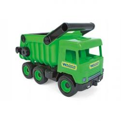 Auto middle Truck sklápač plast 36 cm zelený