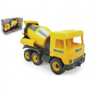 Auto middle Truck domíchávač plast 40 cm žlutý