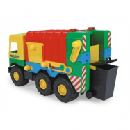 Auto middle Truck popelář plast 41cm