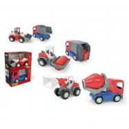 Auto stavební Tech truck 2v1 plast 23 cm