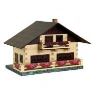 Dřevěná slepovací stavebnice Walachia Alpský dům