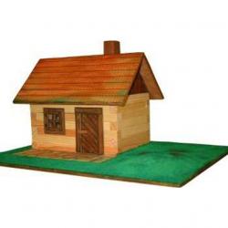 Norimpex Domek drewniany do sklejania - W-1
