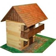 Spichlerz piętrowy drewniany do sklejania nr.6 w pud.