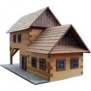 Dřevěná slepovací stavebnice Walachia Hospoda