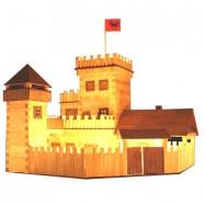 Dřevěná slepovací stavebnice Walachia Hrad