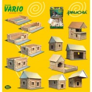 Domek Vario do składania drewniany 72 elementy W-20