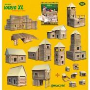 Drewniany zestaw do składania Domek Vario 184 elelemntów Belki W-21