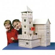 Dřevěná stavebnice Walachia Vario Box 450 dílů