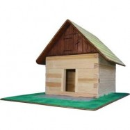 Dřevěná slepovací stavebnice Walachia Seník
