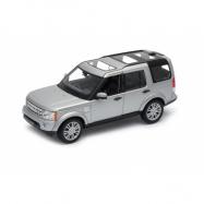 Welly - Land Rover Discovery IV 1:24 stříbrný
