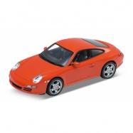 Welly - Porsche 911 (997) Carrera S Coupe 1:24 červené