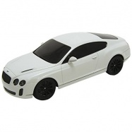 Welly - Bentley Continental Supersport model RC 1:24 bílý