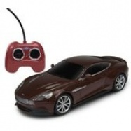 Welly - Aston Martin Vanquish model RC 1:24 hnědý