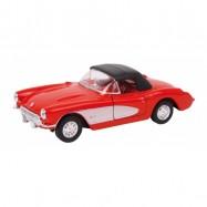 Kovový model auta - Model automobilu Chevrolet 57 Corvette