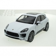 Welly - Porsche Macan Turbo model 1:24 bílé