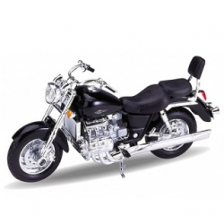 Welly - Motocykel Honda F6 C model 1:18 čierna