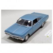 Welly - Chevrolet 1965 Impala SS 396 model 1:24 světle modrý