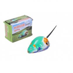Myš natahovací kovová 7 x 5 cm