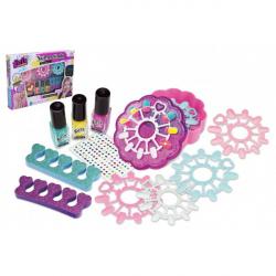 Nail studio Plastikowy zestaw lakierów do paznokci w pudełku