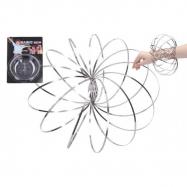 Magic ring kovová spirála pružina průměr 13cm na kartě 16x24cm