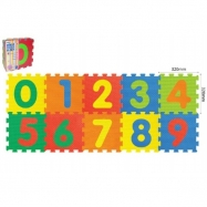 Puzzle piankowe Cyfry 10 szt. 30x30cm