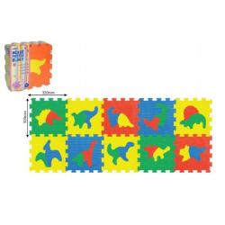 Penové puzzle Dinosaury 30x30cm 10ks v sáčku