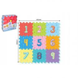 Miękkie puzzle – cyfry