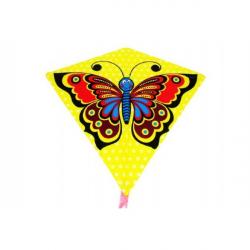 Drak létající motýl plast 68x73cm v sáčku