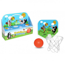Kôš na basketbal Krtko 33x22cm plast v krabici