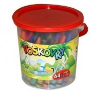 Voskovky 64 barev