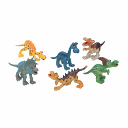 zestaw dinozaurów 6 szt