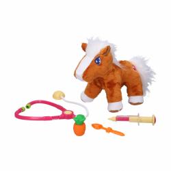 Interaktívny kôň set veterinár 25cm