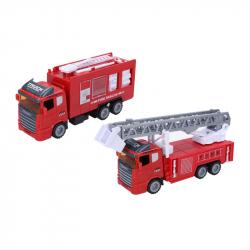 Auto hasičské 20 cm - 2 varianty