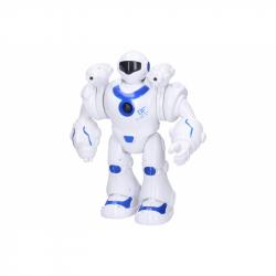 Robot Yobi strieľajúci s efektmi 25 cm